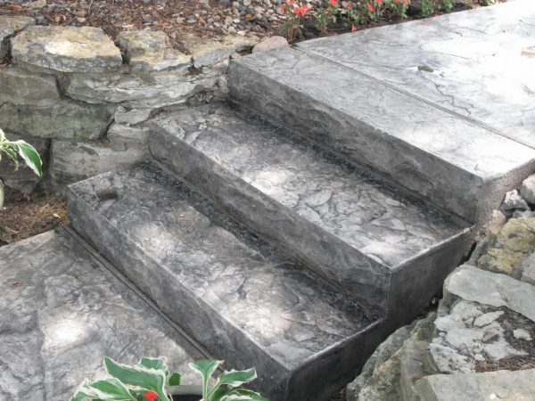Moon Decorative Concrete Steps Moon Decorative Concrete