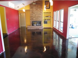 Residential Concrete Floor Supplies at The Stamp Store