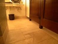 Floor in Changing Rooms