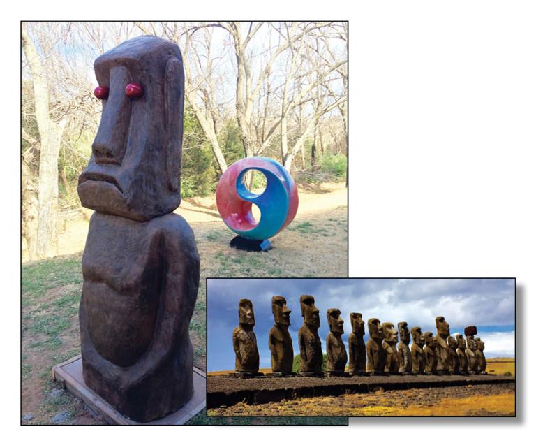 Moai Has Arrived At Moon Decorativeu0027s Concrete Art Garden
